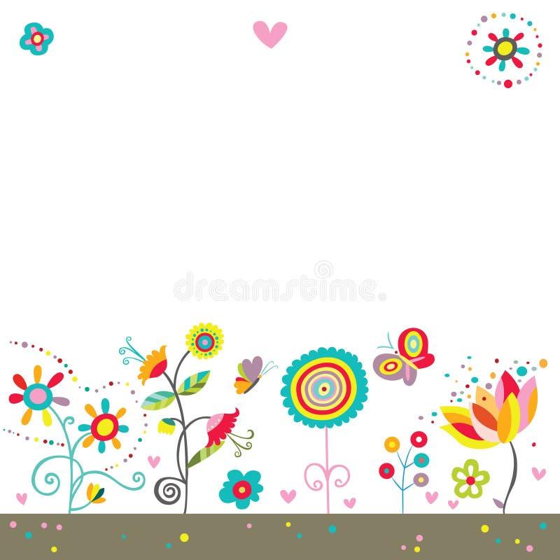 Fundo colorido bonito ilustração royalty free