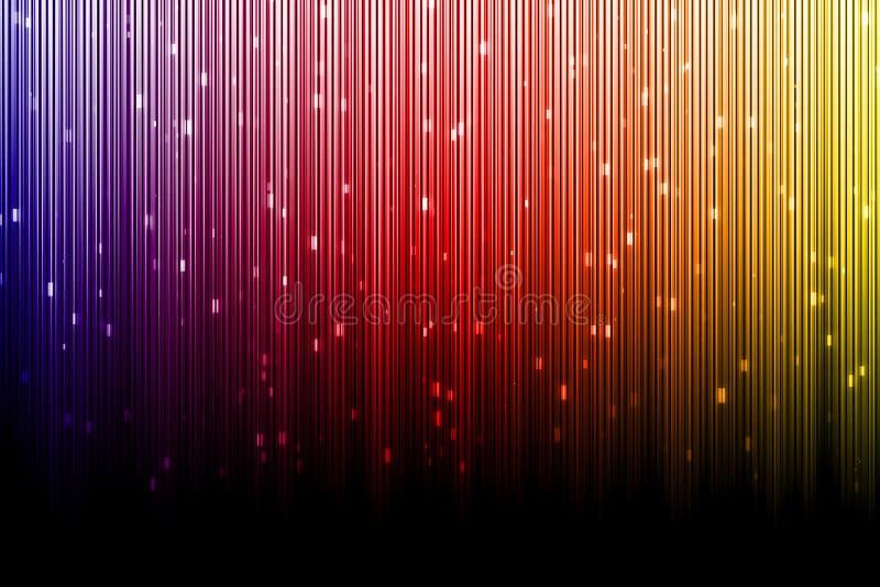 Fundo colorido, a cor do aurora borealis ilustração royalty free