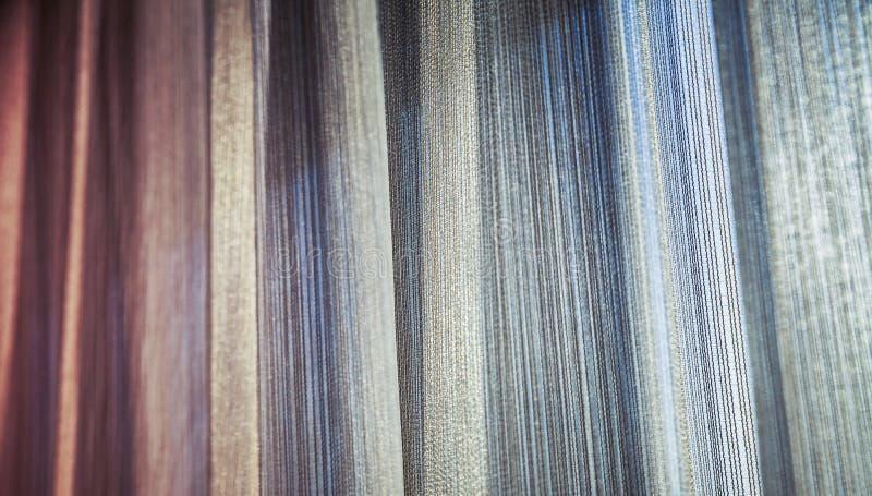 Fundo colorido da cortina do tule imagens de stock royalty free