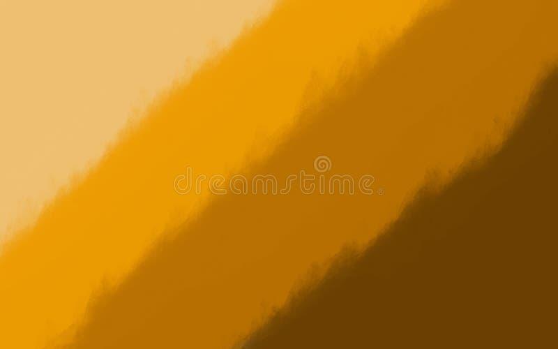 Fundo colorido da escova de pintura, fundo limpo ilustração do vetor