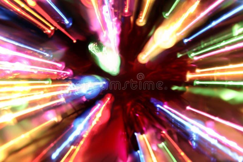 Fundo colorido da luz de néon ilustração royalty free