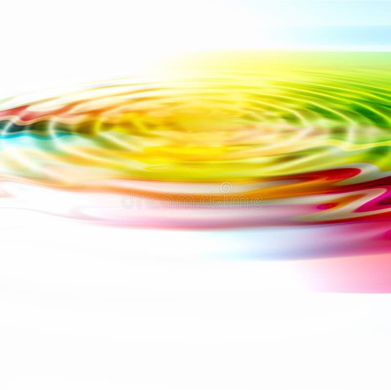 Fundo colorido da ondinha ilustração stock
