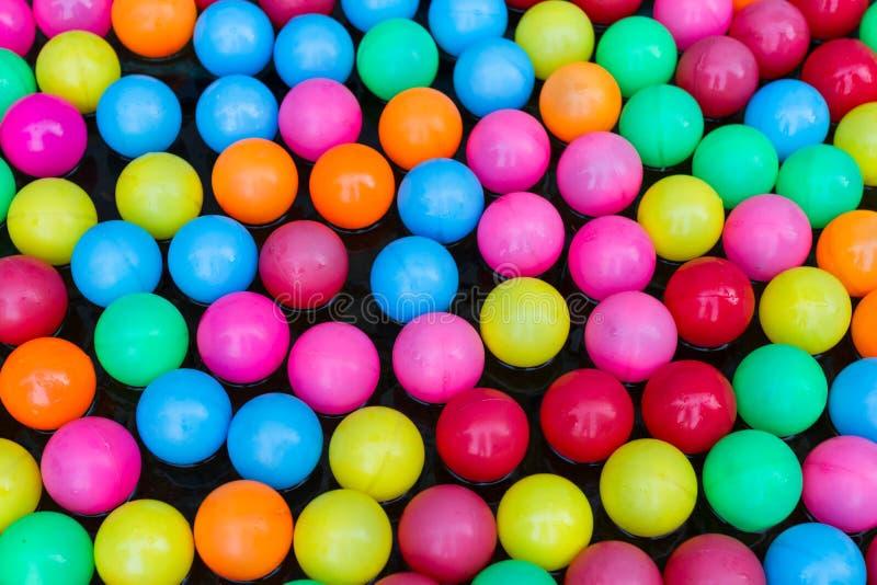 Fundo colorido das esferas foto de stock