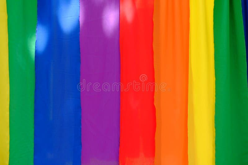 Fundo colorido de matéria têxtil foto de stock royalty free