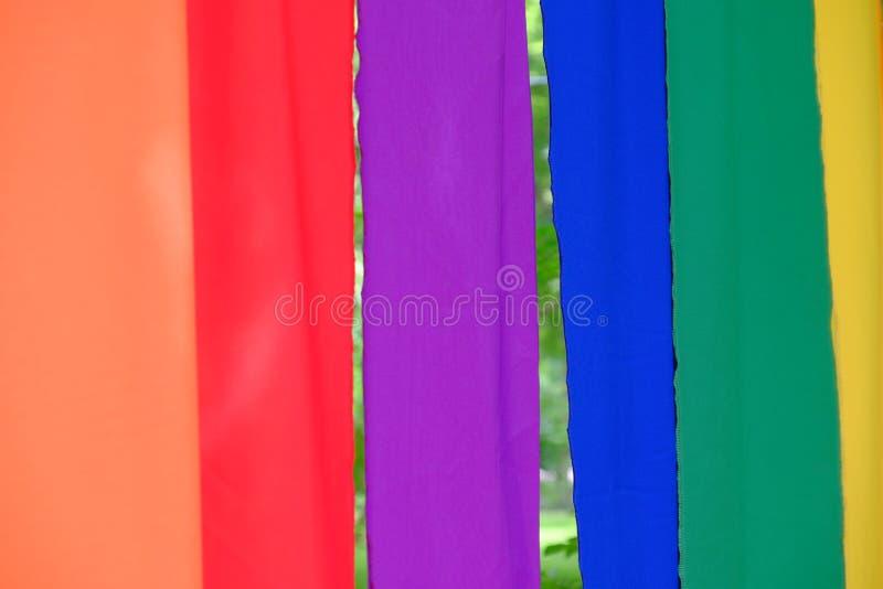 Fundo colorido de matéria têxtil foto de stock