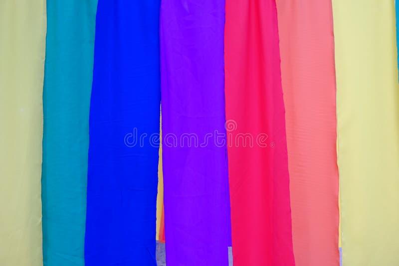 Fundo colorido de matéria têxtil imagem de stock royalty free
