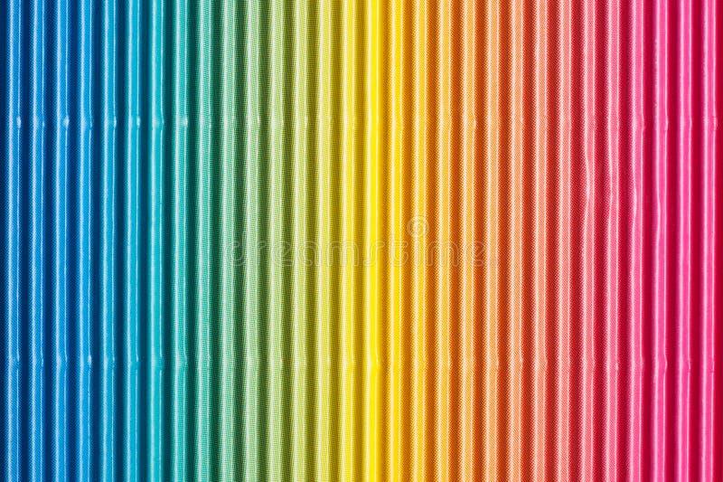 Fundo colorido do cartão ondulado ou do papel foto de stock