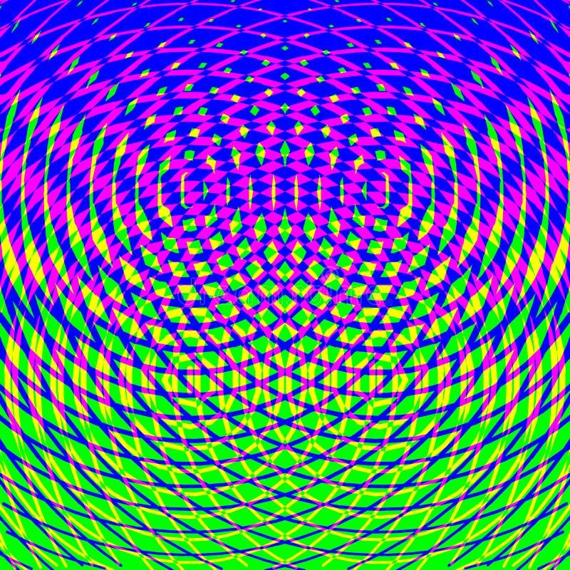 Fundo colorido do mosaico Teste padrão geométrico abstrato brilhante ilustração royalty free