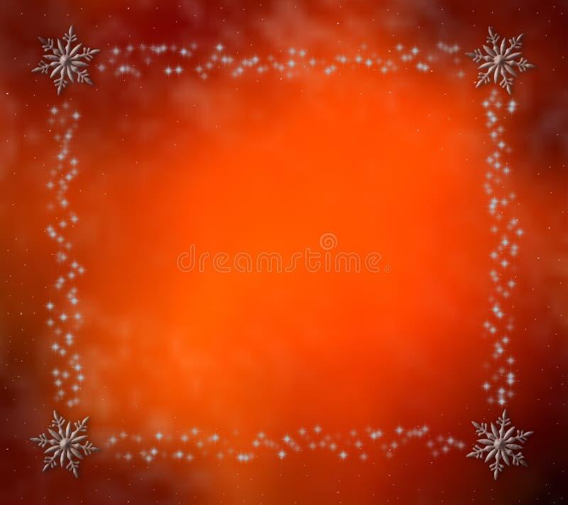 Fundo colorido do Natal da coleção ilustração royalty free