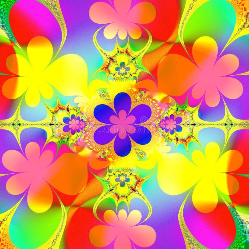 Fundo colorido do verão ilustração royalty free
