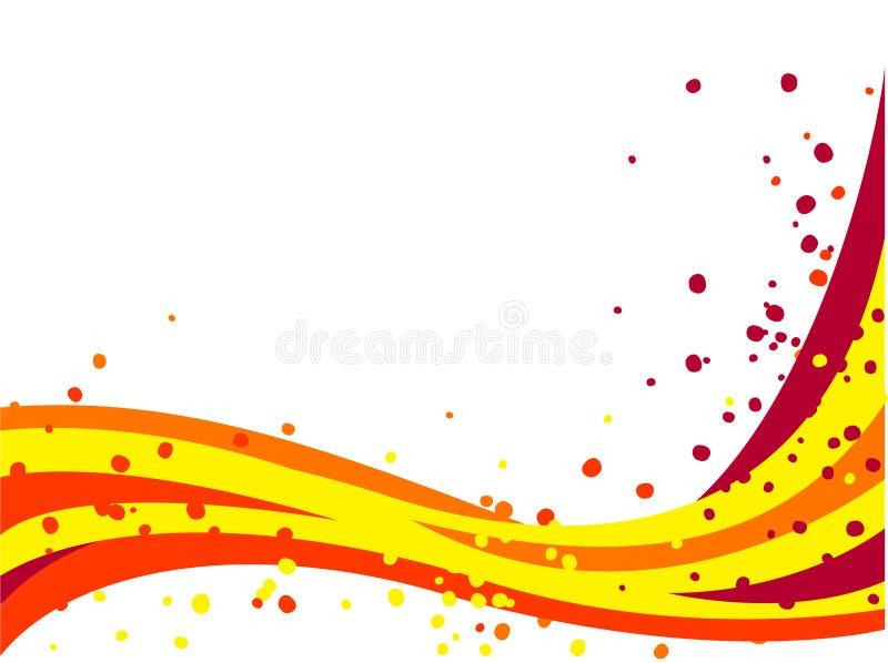 Fundo colorido do verão ilustração stock