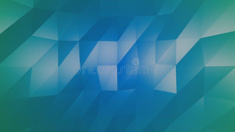 Fundo colorido geométrico ilustração royalty free