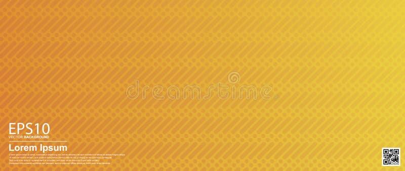 Fundo colorido geométrico do teste padrão do vetor do sumário Laranja/cartaz, molde da bandeira ilustração stock