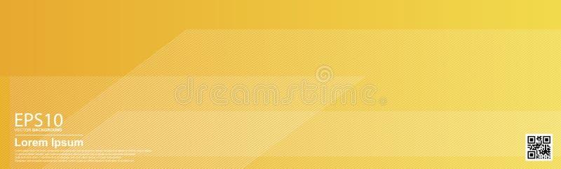 Fundo colorido geométrico do teste padrão do vetor do sumário Laranja/cartaz, molde da bandeira ilustração royalty free
