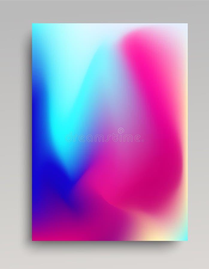 Fundo colorido luz do inclinação ilustração stock