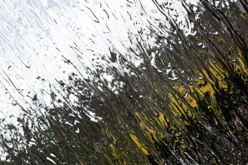 Fundo colorido macro de superfície do sumário da janela de alta qualidade foto de stock