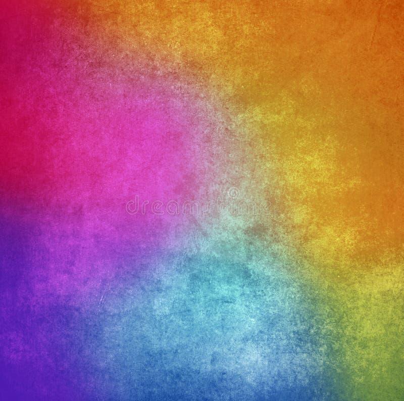 Fundo colorido ou textura da parede da pintura do grunge foto de stock