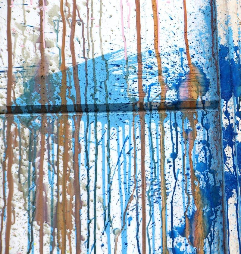 Fundo colorido parede pintada fotografia de stock