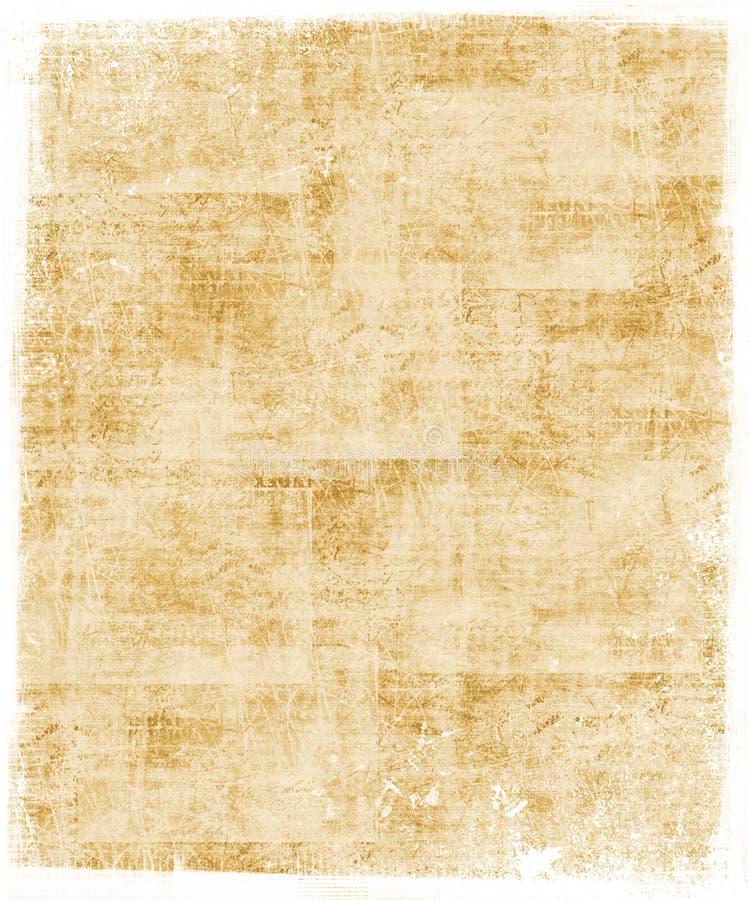 Fundo colorido trigo ilustração do vetor