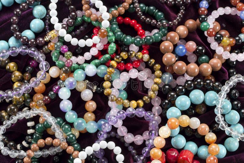Fundo com braceletes imagem de stock royalty free