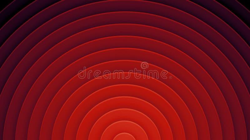 Fundo com círculos em um estilo de papel Com uma variedade de cores fotos de stock royalty free