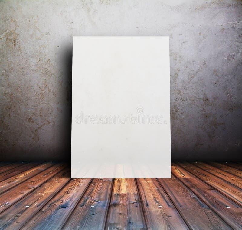 Fundo com cartaz fotos de stock royalty free