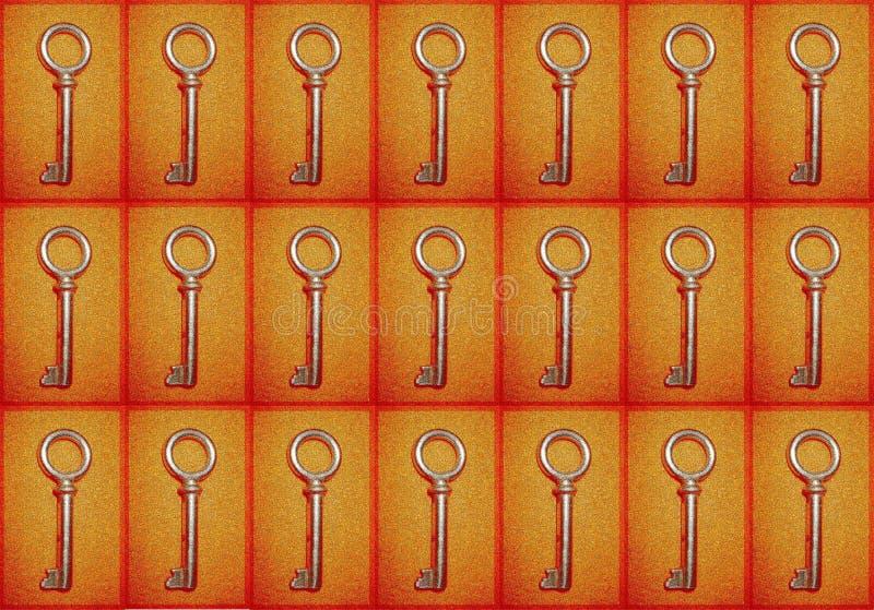 Download Fundo com chaves imagem de stock. Imagem de fundos, arte - 125365