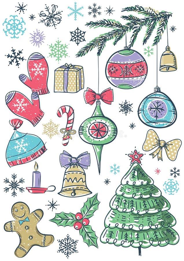 Download Fundo Com Elementos Do Natal, Vetor Ilustração do Vetor - Ilustração de alimento, christmas: 26514447
