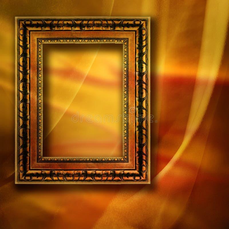 Fundo com frame ilustração do vetor
