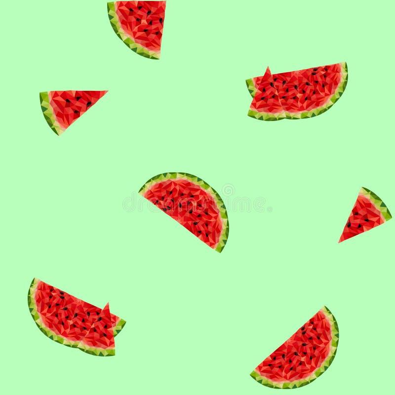 Fundo com melancias fotografia de stock
