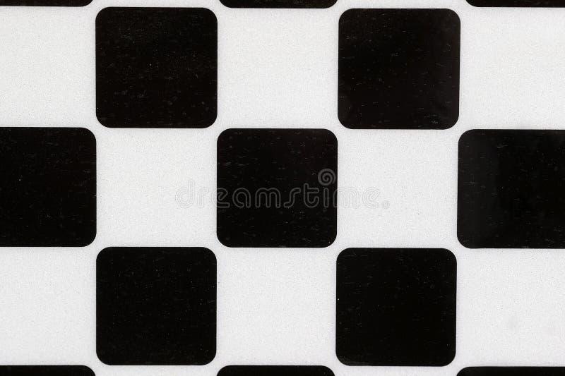 Fundo com quadrados preto e branco fotografia de stock