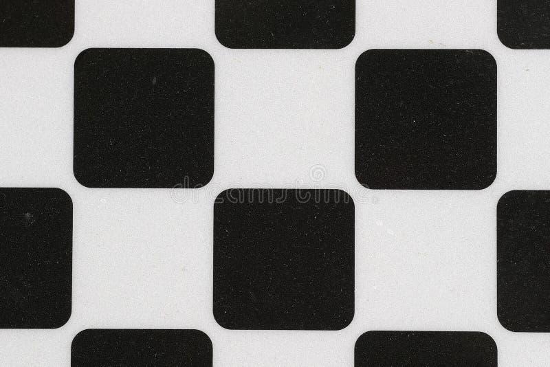 Fundo com quadrados preto e branco fotos de stock royalty free