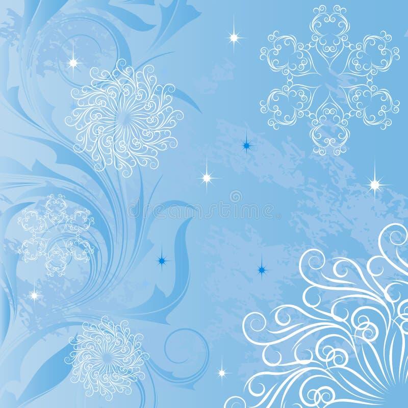 Fundo com testes padrões gelados ilustração royalty free