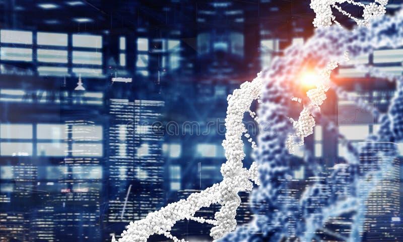 Fundo conceptual da biotecnologia fotografia de stock