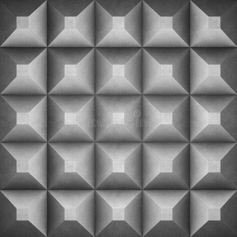 Fundo concreto geométrico ilustração royalty free