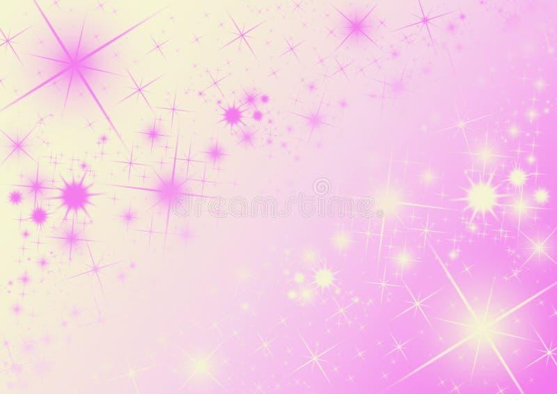 Fundo cor-de-rosa ilustração royalty free