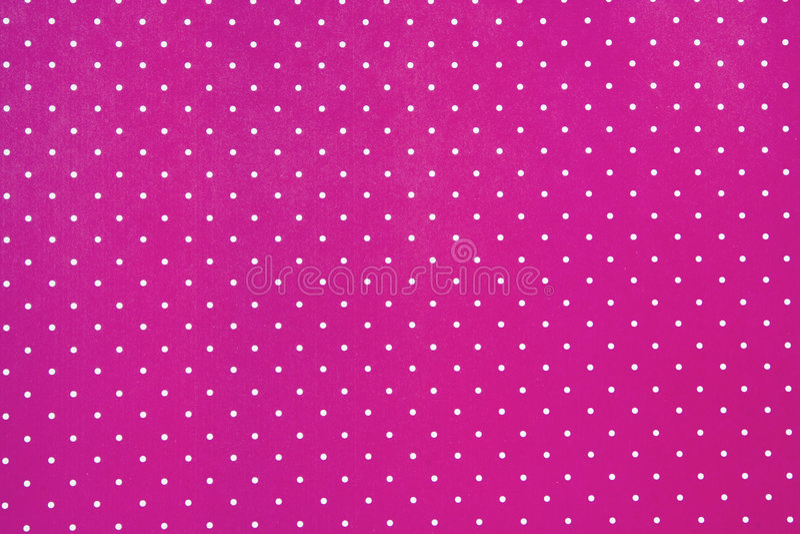 Fundo cor-de-rosa abstrato com pontos brancos foto de stock