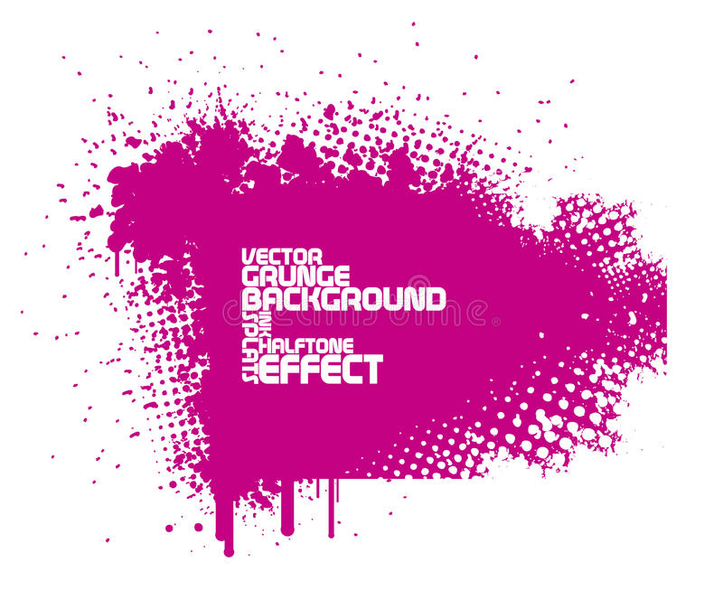 Fundo cor-de-rosa abstrato do grunge ilustração royalty free