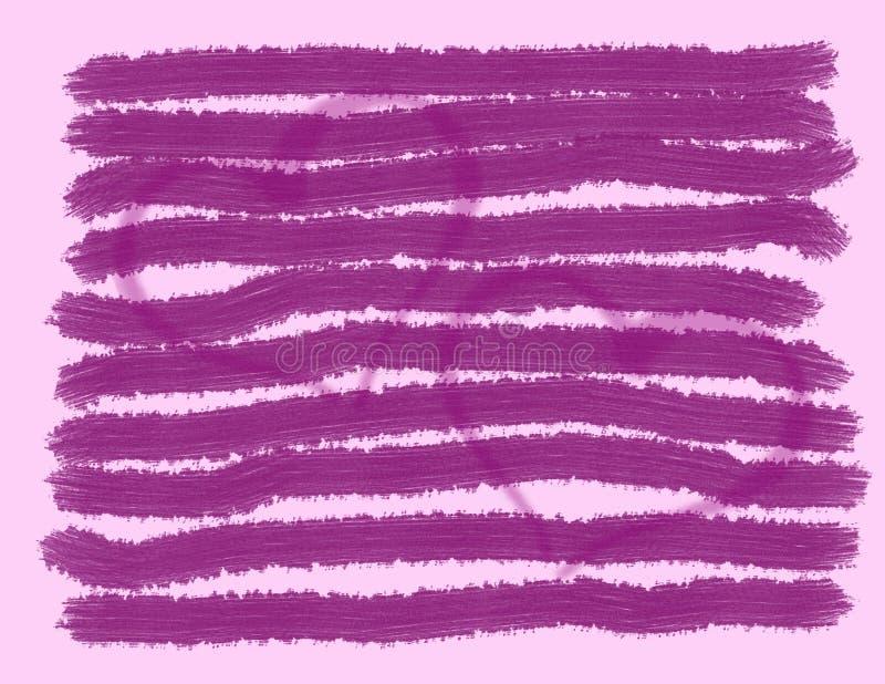 Fundo cor-de-rosa com corações foto de stock