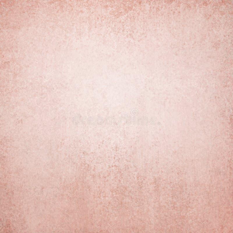 Fundo cor-de-rosa com textura fraca do vintage fotos de stock royalty free