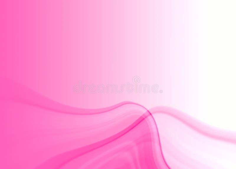 Fundo cor-de-rosa da abstracção ilustração royalty free