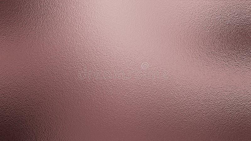 Fundo cor-de-rosa da textura da folha de prata imagem de stock