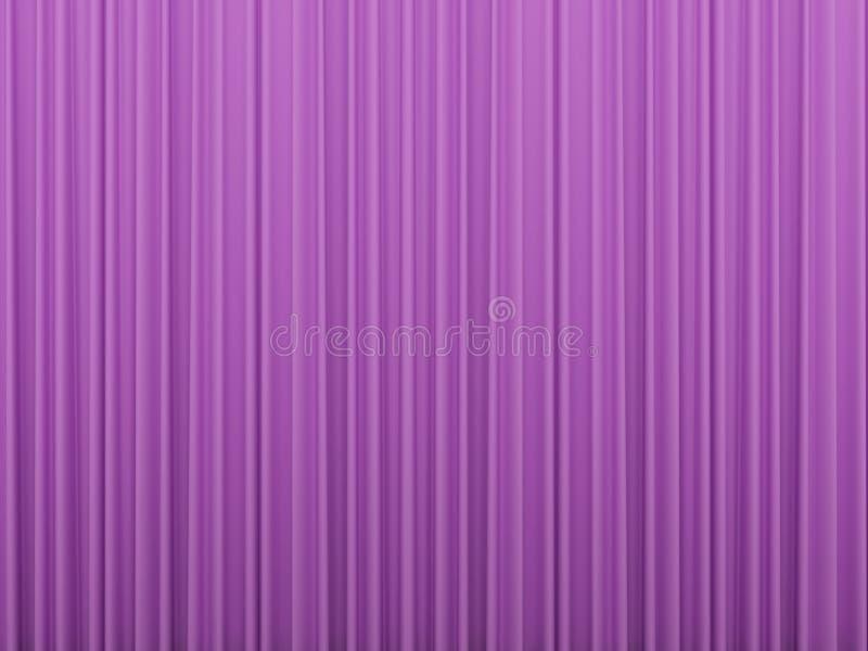 Fundo cor-de-rosa das cortinas ilustração royalty free