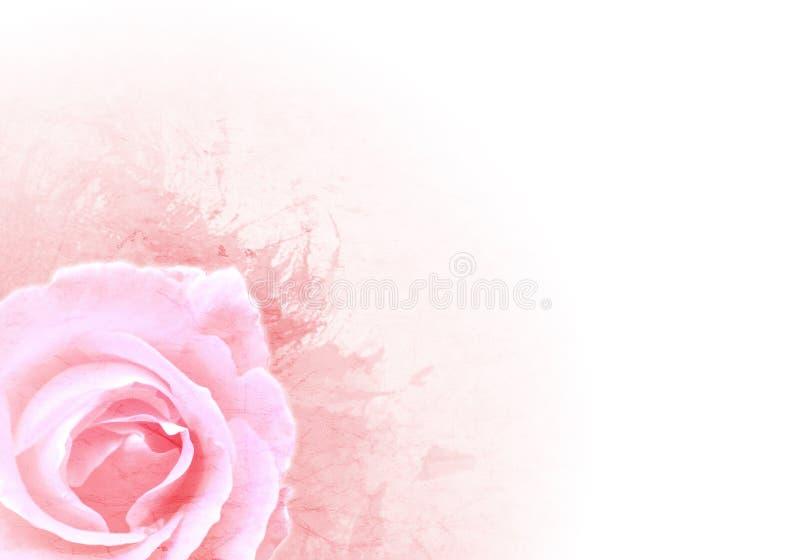 Fundo cor-de-rosa de Grunge ilustração do vetor