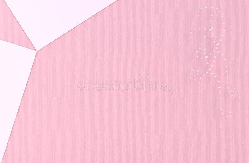 Fundo cor-de-rosa do amor no dia de Valentim fotografia de stock
