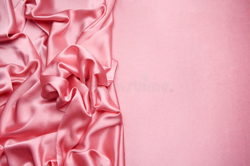Fundo cor-de-rosa do cetim fotos de stock royalty free