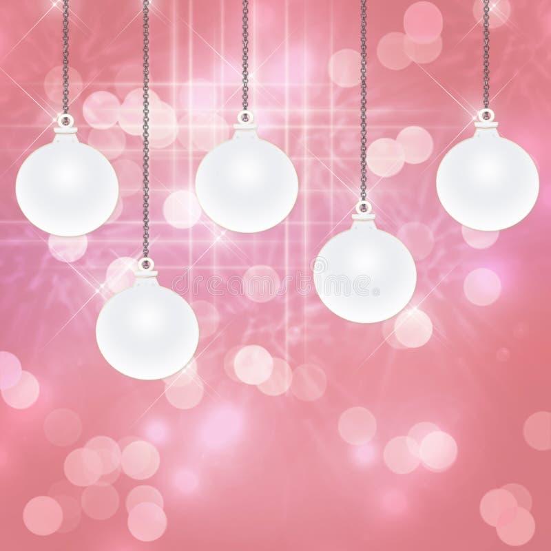 Fundo cor-de-rosa do feriado ilustração royalty free