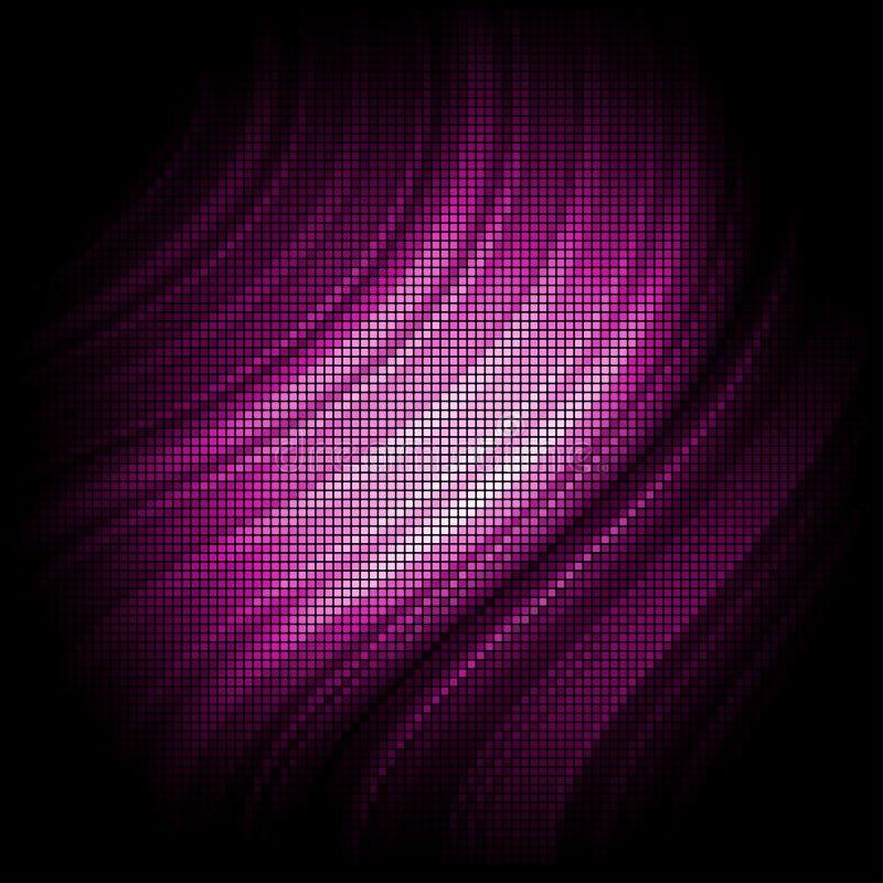 Fundo cor-de-rosa do sumário do mosaico ilustração stock