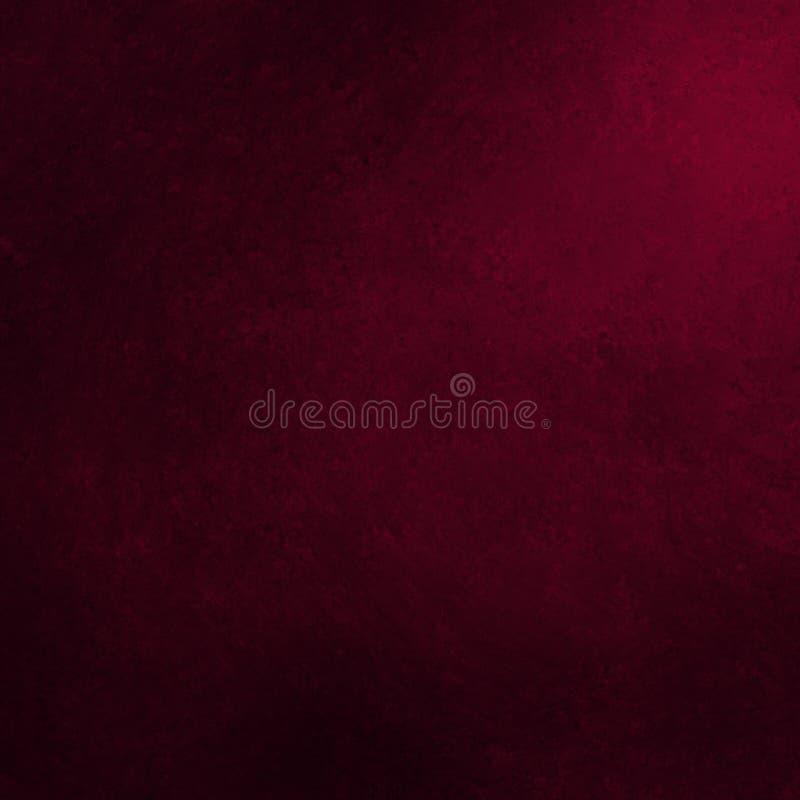 Fundo cor-de-rosa escuro com projeto preto da beira do grunge, disposição elegante elegante do contexto ilustração do vetor