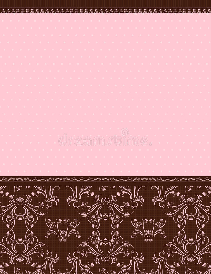 Fundo cor-de-rosa, vetor ilustração stock